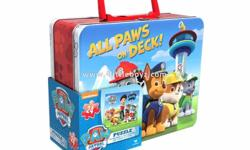 All Paws on Deck Paw Patrol Puzzle in Tin, 24 Pieces
