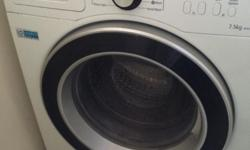 Almost new 7.5 Samsung washing machine for sale owing