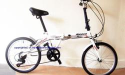 ~~~ ALMosT New ALeoCa FoLDaBLe BiCyCle ShiManO Gear