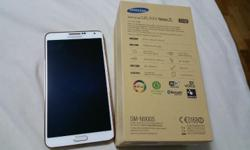 Samsung Note 3 Rose Gold White Color Almost new. Used