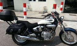 Honda Phantom 200cc cruiser for sale. COE until March