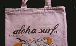 Aloha Surf CLOTH tote bag ! BOught in Hawaii