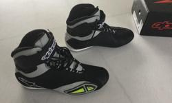 Alpinestars Faster 2014 motorcycle shoes, carbon, light