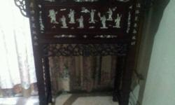 Altar Table for sale. Drawer & additional drawer. Good