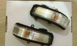 - Altis 2008 to 2013 Side Mirror Signal Lights - x1