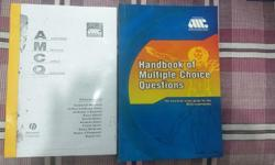 Handbook of MCQs by AMC, original, brand new. Annotated