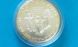 Produced by the United States Mint. Silver Eagles are