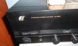 Original Made in Japan-SANSUI Intergrated amplifier for