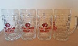 ANCHOR Beer Glass 400 ml (Set of 4 pieces) Anchor