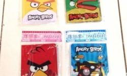 Angry Bird Available: Yellow and Green Strictly no
