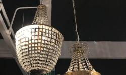 Moving Out Sales! Antique Chandeliers. (refer to