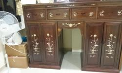- Antique Furniture similar to prayer cabinet with