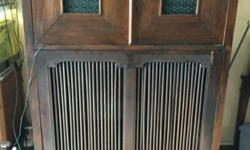 Antique Solid Teakwood TV and Audio Cabinet. Indonesian