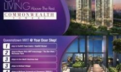 Desired City Living At Queenstown! Commonwealth Towers