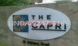 FOR RENT The Capri 1,862 sqf, 3 bedrooms, 2 bathrooms