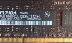Original Apple iMac RAM - Elpida 4GB 2Rx8 DDR3