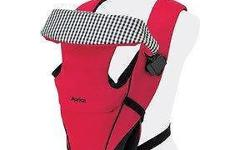 - Versatile baby carrier with four holds to grow with