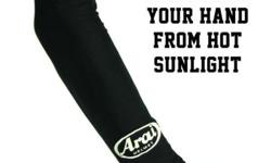Brand New ARAI Motorcycle Armsocks Material = Soft