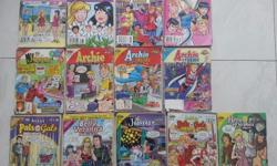 13 Archie comic books are for sale, self-collection, $3
