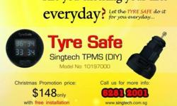 Are you checking your tires everyday? Let the TYRE SAFE