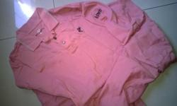Worn Once only. Ashworth Golf Long Sleeve Polo Shirt.