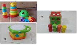 Moving out Sale! 1) Bear Cups Stacker - SGD 8- Includes