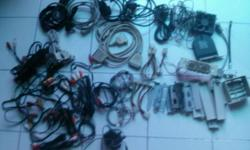 Assorted power cables/fan/coaxial cables/ etc for sale.