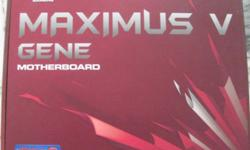 Hi all, Im selling a used Asus Maximus V GENE Z77 ROG