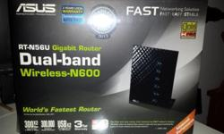Asus RT-N56U Gigabit router Dualband router wireless