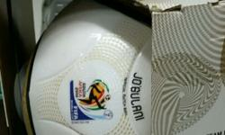 Auctioning my Official Adidas 2010 World Cup Match Ball