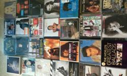 CDs from $3/- onwards. Total about 50 pieces majority