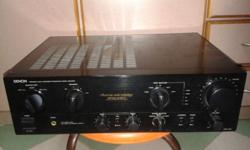 SOLID BUILT POWERFUL DENON INTEGRATED AMPLIFIER OF 115