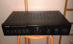 GOOD WORKING QUALITY ROTEL AMPLIFIER SOUNDS. FOR MORE