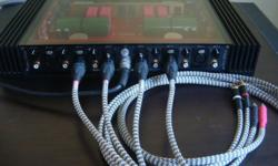 Audiophile's Balanced XLR to RCA interlinks cables