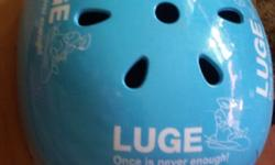 AUSTRALIA-CERTIFIED LUGE HELMET GOOD CONDITION WITH