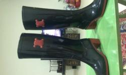 Authentic CELINE rubber Boots Size 36, still in box,