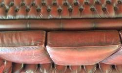 I am selling an authentic chesterfield sofa due to