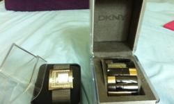 2 DKNY watches for sale at $150 each. Pre-owned watches