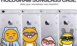 �Authentic�KAKAO Friends Hologram Sunglass Case�iPhone