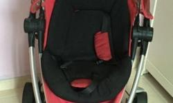 Authentic QUINNY Zapp Xtra2 RED STROLLER *Foldable with