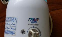 Used avent bottle warmer for sale. Good working