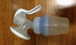 Used avent manual pump sold as in 1st pix with 2 brand