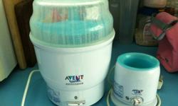 Selling a used Avent sterilizer and warmer for $50 Not