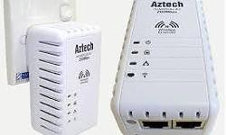 Selling Aztech HL110EW - 1pc, 200Mbps HomePlug AV