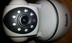 I have one Aztech IP Security Camera (360 degree view).