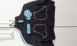 Baby 4 to 6 mth old jacket at $6 with centre zipper.