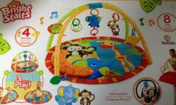 Bright Starts Baby Activity Gym Great clean condition,