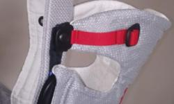 Baby Björn Carrier mesh - silver and red, hardly used.