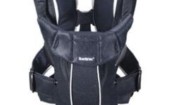 Baby Bjorn baby carrier. Nice airy mesh gives good