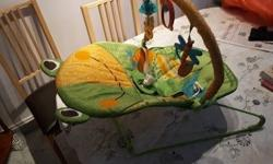 This baby bouncy chair is as good as new. It is very